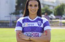 """Teodora Meluță, multiplă campioană cu """"U"""" Olimpia Cluj a semnat cu Poli Timișoara, noua forță din fotbalul feminin din România"""