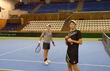 Echipa de tenis masculin a României se antrenează la Cluj
