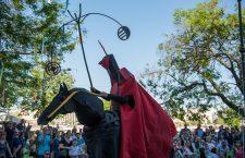Spectacol de Shakespeare în centru Clujului, în ultima zi a festivalului WonderPuck