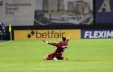 FOTO | Burcă a readus zâmbetul în Gruia. CFR Cluj, la prima victorie de la revenirea lui Petrescu