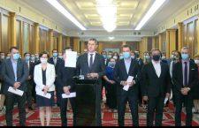 """Ministrii USR-PLUS demisionează din guvernul Cîțu. Dan Barna: """"Așa nu se mai poate"""""""