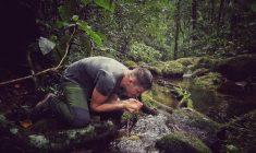 """""""Simt plăcerea din jungla amazoniană, în momentul în care mă întorc aici. Și aici trăiesc cu dorul junglei"""" biologul Alexandru Stermin/Foto: Arhiva personală"""