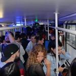 Cluj never sleeps. Petrecere inedită într-un tramvai din Cluj
