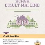 Banca Transilvania Italia lansează primul credit imobiliar destinat persoanelor din Italia care doresc să achiziţioneze imobile în România (P)