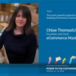 Chloë Thomas, (UK), inclusă în Top 10 Analişti de eCommerce din lume: Drumul real spre succes este acela de-a înţelege în totalitate clientul