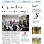 """Nu rataţi noul număr Transilvania Reporter: """"Clujenii călători în vara arabă a Europei"""""""