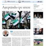 """Nu ratați nou număr Transilvania Reporter """"Așteptându-i pe sirieni"""""""