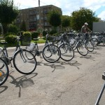 """Bikesharing în ritm de melc. Bicicletele rămân """"pe tuşă"""""""