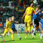 România, obligată să bată la cinci goluri Estonia!
