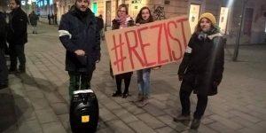 Povestea din spatele hashtagului #rezist