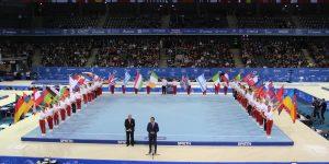 FOTO/VIDEO Grandoare la deschiderea Europenelor de Gimnastică