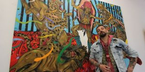 """Paul Hitter, într-o primă expoziție la Cluj în spațiul galeriei Launloc: """"Nu are rost să fim ipocriți. Îmi doresc să reușesc eu, nu ceilalți"""""""