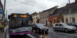 Banda pentru autobuze Primărie-Mărăști, deschisă pentru circulație
