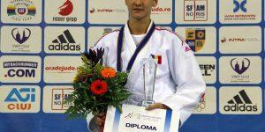 """Judoka Monica Ungureanu, cea mai bună sportivă a CS """"U"""" Cluj în 2017"""