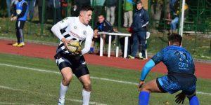 """Patru rugbyști de la """"U"""" au jucat în amicalul cu Scoția"""