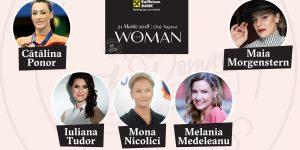 Cătălina Ponor, Melania Medeleanu, Mona Nicolici sau Maia Morgenstern urcă pe scena The Woman la Cluj-Napoca