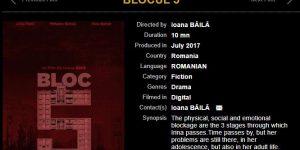 Scurtmetrajul unei masterande a Universității Babeș-Bolyai, acceptat la Festivalul de Film de la Cannes 2018