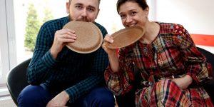 Farfuriile comestibile din tărâțe, viitorul reciclării în România