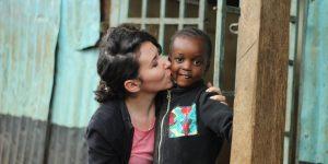 Din Cluj, în Kibera, pentru copiii străzii: Un centru educațional, proiectul unei românce în cea mai mare mahala urbană din Africa