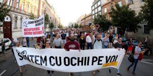 Peste 2000 de clujeni au ieșit din nou în stradă