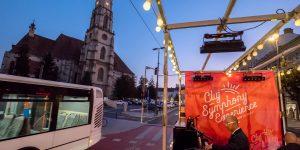 Primul concert într-un autobuz electric, la Cluj Symphony Experience (Video)