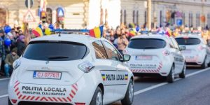 Mașini electrice pentru Poliția locală Cluj