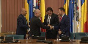A fost lansată Alianța Vestului: Clujul, Timișoara, Aradul și Oradea, parteneriat pentru un viitor altfel