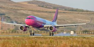 Wizz Air lansează o rută nouă de la Cluj-Napoca către Birmingham