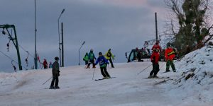 Feleacu, liber la schi