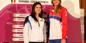 Fed Cup/ Simona Halep deschide balul în compania Karolinei Pliskova