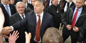Premierul Viktor Orban a venit la Cluj să-l sărbătorească pe etnograful Kallos Zoltan