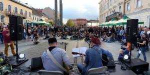 FOTO/Jazzul a ieşit în stradă, Clujul a venit să-l vadă